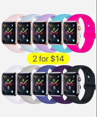 2-for-$14 Apple Watch Bands (Series 4/3/2/1)