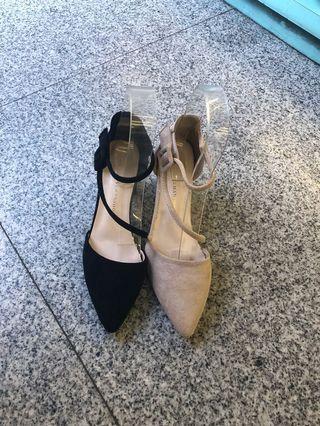 🚚 #女款高跟絨布包鞋 👉👉穿起來超美 👍大推2色 ❤️35.36.37.38.39 現貨特價$390
