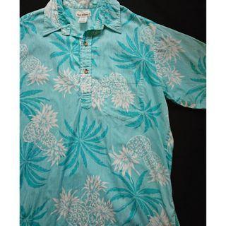 Vintage Aloha Shirt 夏威夷製 美式古著 夏日復古風 半開襟夏威夷襯衫花襯衫 HAWAII Shirt