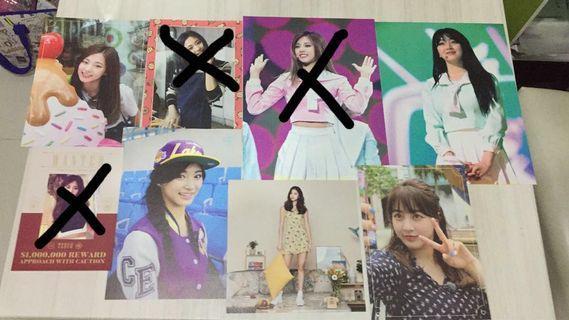 Twice [Each Only RM35 !!!] Tzuyu & Jihyo Postcards