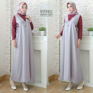 MAXI OVERALL 2IN1 SORAYA - ABU (REAL PICTURE)