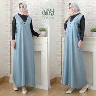 MAXI OVERALL 2IN1 SORAYA - TOSCA (REAL PICTURE)
