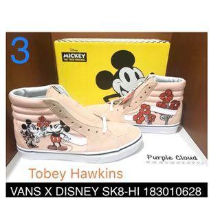 #原價2580買到賺到哦     Vans x Disney聯乘限定系列VANS SK8-HI 183010628