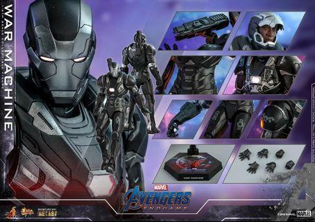 13/4  首日訂單 Hot toys  可換 thanos 訂單 end game diecast war machine ironman