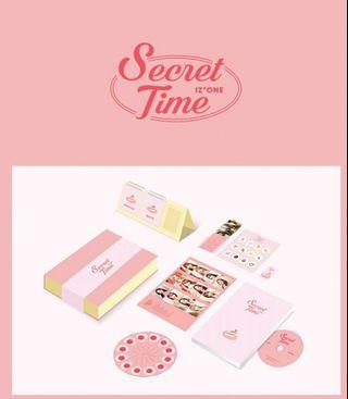 [ LOOSE ITEM ] IZ*ONE SECRET TIME