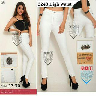 JEANS HIGHWAIST WHITE 601 HDKK