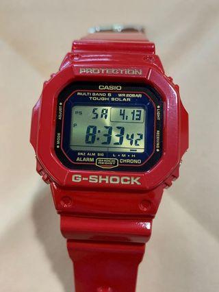 特價 中古 二手 G-Shock 30th Anniversary Rising Red limited edition GW-M5630A-4 30週年 限量