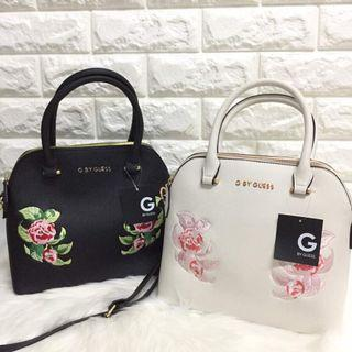 Guess embroidered bag