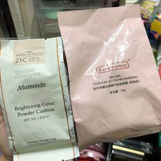 mamonde & bio-essence cushion refill