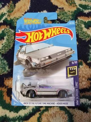 Hot Wheels BTTF Time Machine Hover Mode