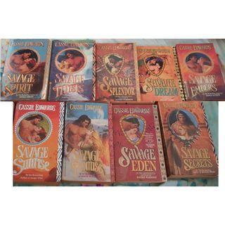Preloved Fiction English Romance Books Novels By Cassie Edwards