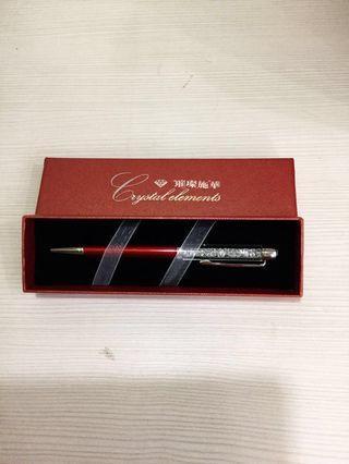 🚚 斯洛奇華水晶原子筆