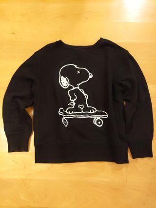 Uniqlo UT Kaws x Snoopy sweater 120