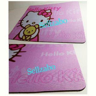 Pink Hello Kitty Thick Base Mousepads Sellzabo Mouse Pads Mat HelloKitty HK 凯蒂貓 Cats