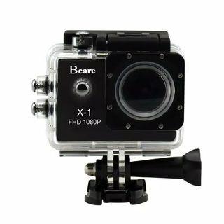 Camera Action Bcare B-Cam X-1 Action Camera - Black [12 MP]