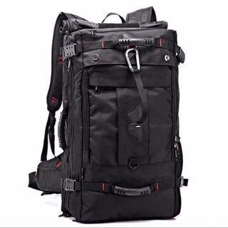 50L/ 60L Partisan Travel Backpack Haversack Bag - Free carabiner and number lock - Instock!