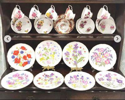 Royal Albert Collectors Plate Britain Wild Flower Collection