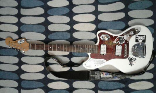 Gitar project no brand Jaguar-Stormtrooper inspired