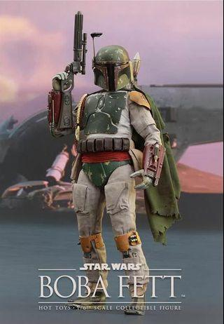 Hot Toys Sideshow Boba Fett 1/6th scale figurine