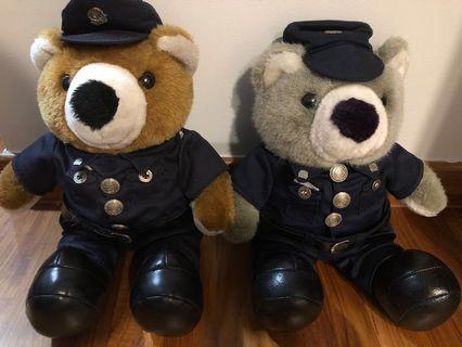 Police Teddy Bear (Price Reduced)