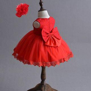 🚚 Princess Dress for 0-3 Months Old