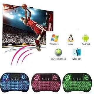 2.4GHz Backlit Touchpad Wireless Keyboard For PC / Laptop / Android TV Box
