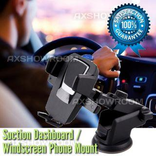Dashboard / Windscreen Suction Phone Holder With Extendable Arm For Flexible Placement