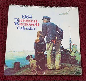 Norman Rockwell Collectible Calendar