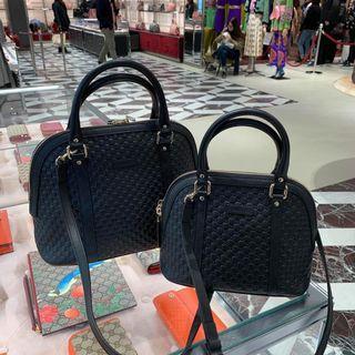 Bnwt Authentic Gucci Alma Dome Micro Embossed Bag