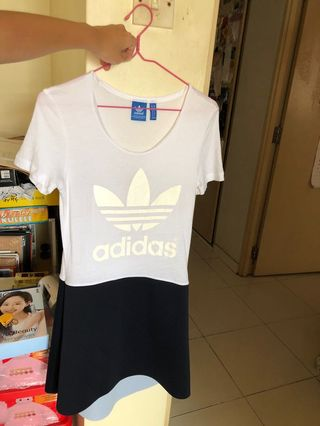 4a7190c25a7 Adidas originals inked long dress BNWT, Women's Fashion, Clothes ...