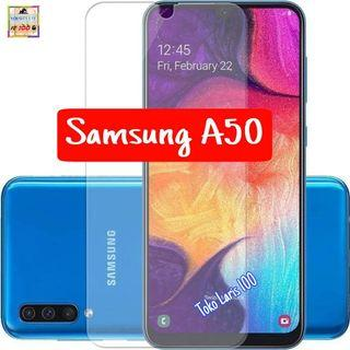 Anti Gores Samsung A50 - Pelindung Layar Bening