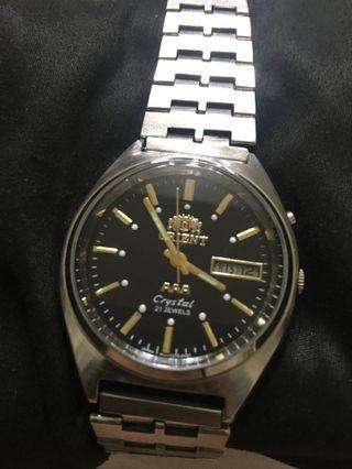 🚚 東方錶 黑底面自動機芯