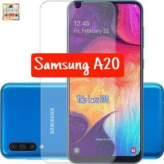 Anti Gores Samsung A20 - Pelindung Layar Bening
