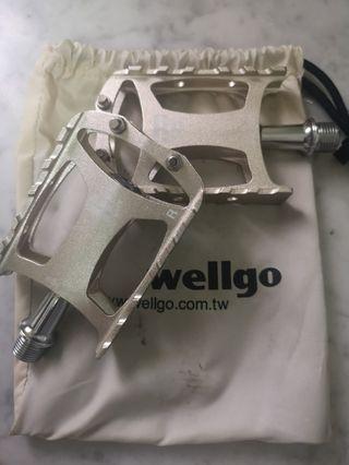 未使用過 Wellgo M079 腳踏