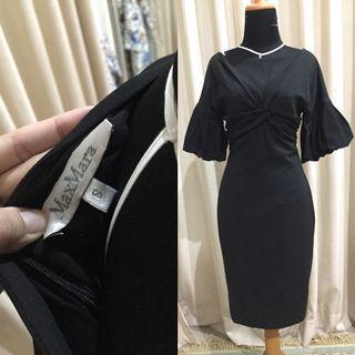 Authentic MaxMara Black Dress