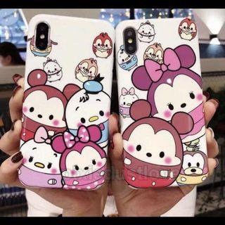 PO: Iphone ufufy/tsum tsum phone cover