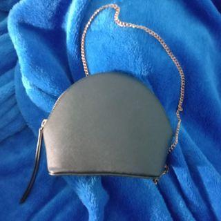 Bershka Round Chain Mini Sling Bag