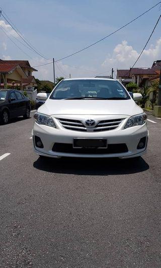 Toyota COROLLA 1.8 ALTIS E(A)FACELIFT TRD SPORTIVO