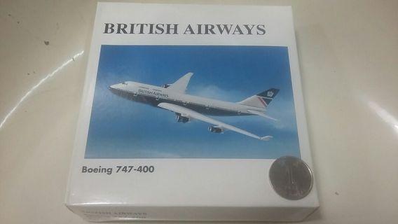 英航 Boeing 747-400 1:500 模型飛機