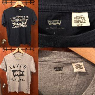 名牌男裝Levi's T恤 size small