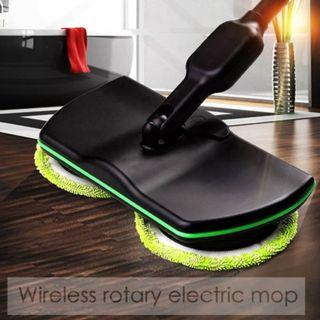 Rechargeable Electric Rotary Floor Cleaner / Scrubber / Microfiber Mop