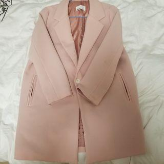 韓國製造 中長款薄外套
