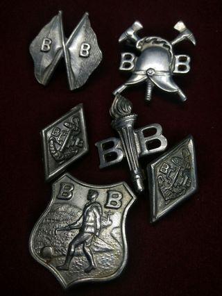 Antique Collectable Boys Brigade Badges