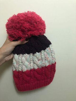 🚚 球球針織毛帽