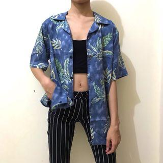 summer shirt kemeja floral #1 unisex