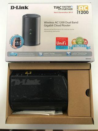 🚚 D-Link Wireless Router AC1200