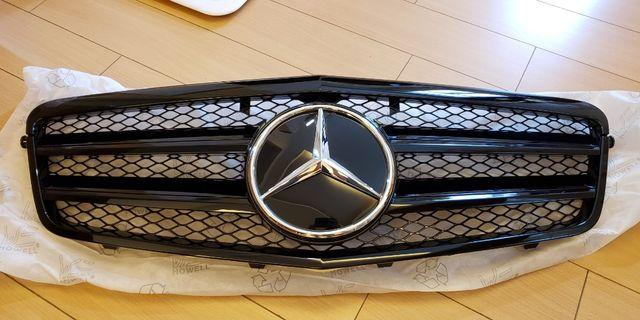 New front black grill  for bebz E class