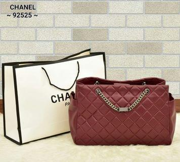 PO.5-7hari. Premium quality of Chanel bag. Size 36x16x25cm. (LIMITED STOCK).