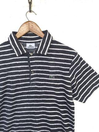 Tshirt Lacoste Stripe Design