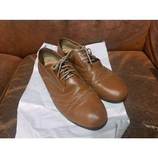 🚚 棕色牛津鞋24.5